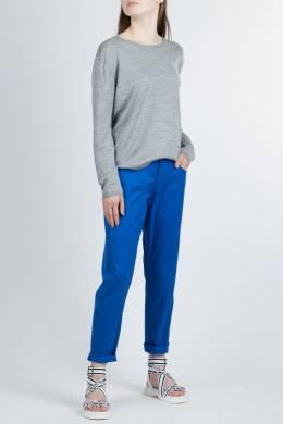 Синие прямые брюки Armani Jeans 1742141021