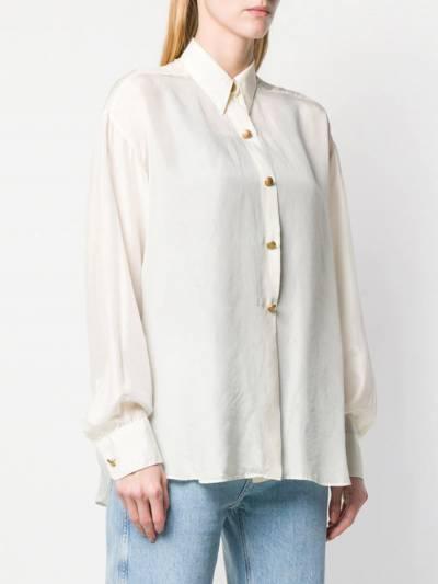 Dolce&Gabbana Pre-Owned рубашка свободного кроя 1990-х годов DEG220A - 3