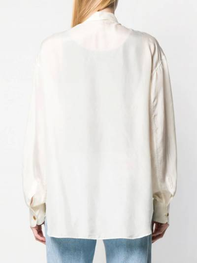 Dolce&Gabbana Pre-Owned рубашка свободного кроя 1990-х годов DEG220A - 4