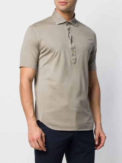 Dell'oglio рубашка-поло кроя слим A32682910142701 - 3