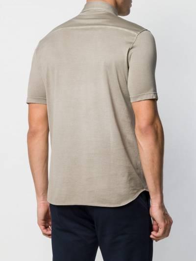 Dell'oglio рубашка-поло кроя слим A32682910142701 - 4