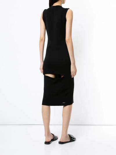 Boyarovskaya облегающее платье миди DRSS19WET - 4