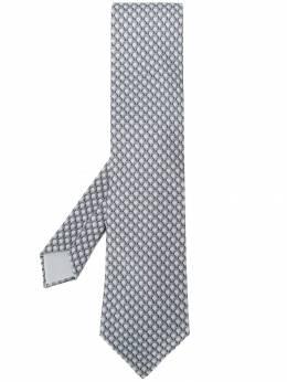 Hermes галстук 2000-х годов с принтом HERME150H