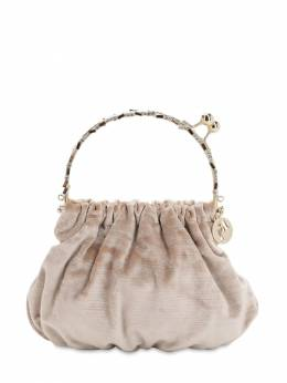 Versailles Satin Top Handle Bag Rosantica 70IWVS016-Uk9T0