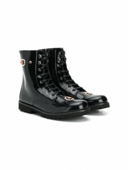 Dolce & Gabbana Kids декорированные ботинки D10871AC782