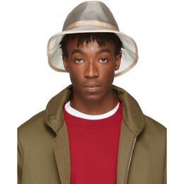 Fendi Beige Micro Mesh Bucket Hat 192693M14000202GB
