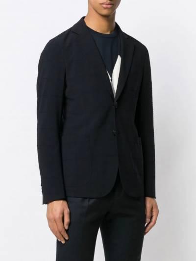 Giorgio Armani пиджак в клетку 8WGGG02BT00NJ - 3
