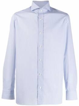 Borrelli приталенная рубашка с длинными рукавами EV1810404