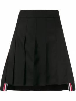 Thom Browne юбка мини со складками FGC609A00626