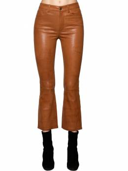 Cropped Straight Leg Leather Pants Frame 70IVHH002-VE9CQQ2