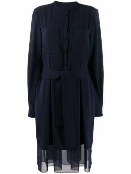 Talbot Runhof короткое платье с поясом TORIA2UT21