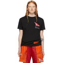 Heron Preston SSENSE Exclusive Black JUMP T-Shirt HMAA001F186000661088