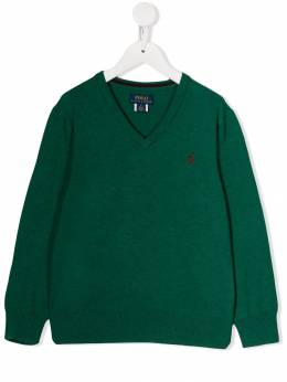 Ralph Lauren Kids джемпер с вышитым логотипом 702188018