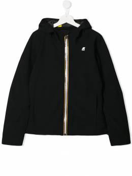 K Way Kids куртка-бомбер с капюшоном K008J00
