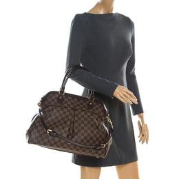 Louis Vuitton Damier Ebene Canvas Trevi GM Bag 215167