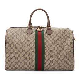 Gucci Beige Medium Ophidia Duffle Bag 547953 9C2ST