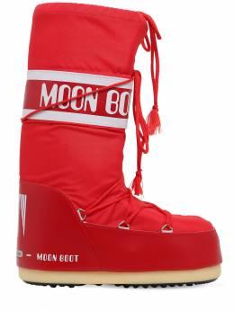 Сапоги Из Нейлона Moon Boot 70I0N5003-MDAz0