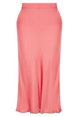 Розовая юбка из вискозы Claudie Pierlot 2631146050