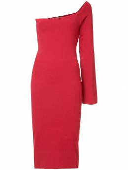 Solace London off the shoulder dress OS1913