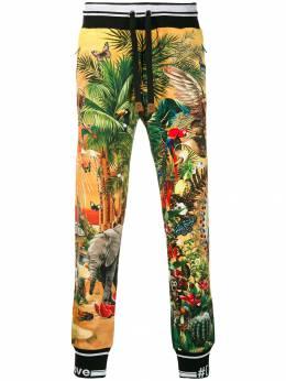 Dolce&Gabbana спортивные брюки с принтом GYUVATHH7XQ