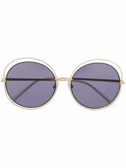 Bolon солнцезащитные очки в массивной оправе BL7036