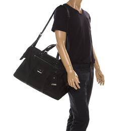 Tumi Black Nylon and Leather Anderson Duffle Bag 215124