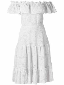 Isolda платье с открытыми плечами STODOMINGORICHILIEU