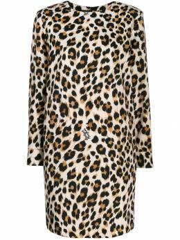 Boutique Moschino платье мини с леопардовым принтом A04125852