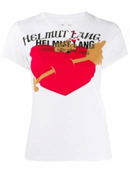 Helmut Lang футболка с принтом J06DW503