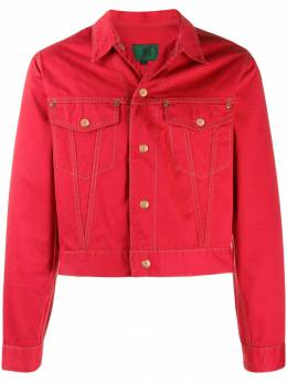 Jean Paul Gaultier Pre-Owned укороченная джинсовая куртка 1988-го года JPG2118