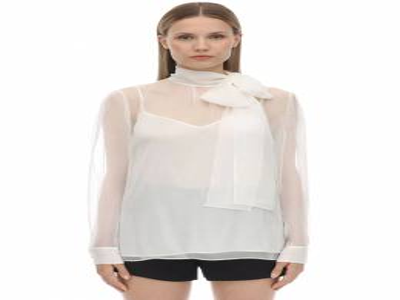Рубашка Из Шифона Valentino 70IAE6025-QTAz0