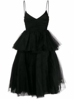 Brognano расклешенное платье из тюля 27BR2A16194773