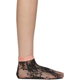 Gucci Black Minifeel Socks 592950 3G407