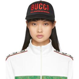Gucci Black Gucci Fall Winter 2019/2020 Cap 596211 3HI49