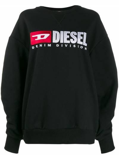 Diesel толстовка с контрастным логотипом 00SPB70CATK - 1