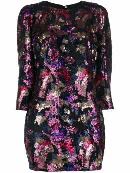 Iro платье-трапеция с пайетками WP33BINXIE
