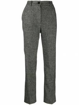 Dolce&Gabbana твидовые брюки строгого кроя FTAM2TFMRAX