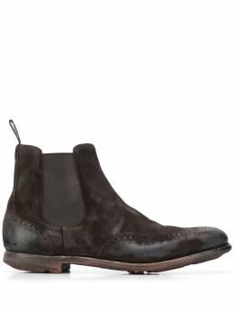 Church's ботинки челси с эффектом потертости ETG0099PX