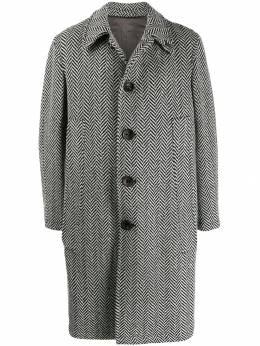 Gabriele Pasini пальто с узором в елочку G14348GP14474
