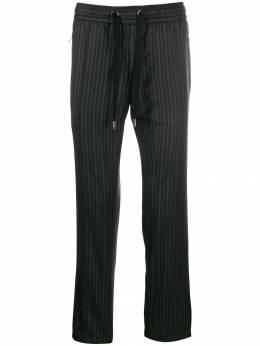 Dolce&Gabbana полосатые брюки прямого кроя GYACETFR2TI