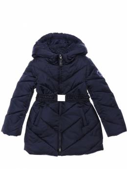 Стеганое Пальто Из Нейлона Monnalisa 70IFIC060-MDU2Uw2