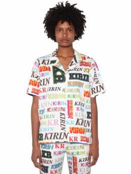 Хлопковая Рубашка С Принтом Kirin 70IDLH015-MDI4MA2