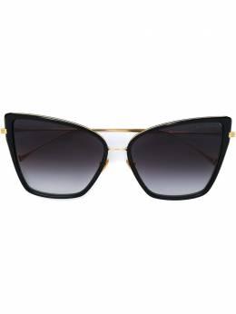Dita Eyewear солнцезащитные очки в оправе 'кошачий глаз' DRX21013ABLKGLD59S