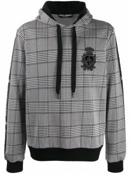 Dolce&Gabbana худи в ломаную клетку G9OF9ZG7SUN