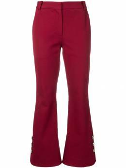 10 Crosby Derek Lam укороченные расклешенные брюки TF91121CR