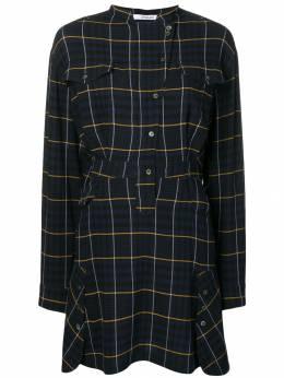 10 Crosby Derek Lam платье-рубашка в клетку TF91534VP