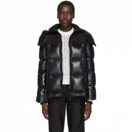 Moncler Black Wouri Hooded Down Jacket E20934682085C0066