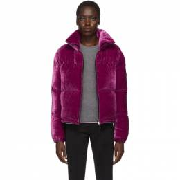 Moncler Purple Down Rimac Jacket E20934591500C0293