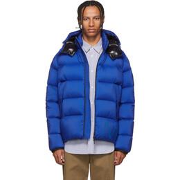 Moncler Blue Down Wilms Jacket E2091 41981 55 53333