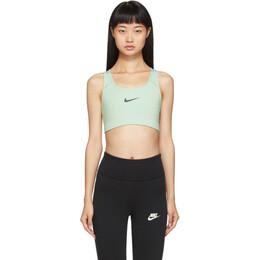Nike Green Swoosh Bra 192011F07301801GB